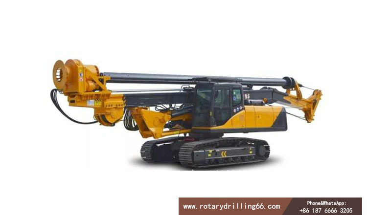 Rotary drilling rig hydraulic system explanation picture