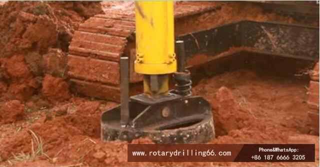 Rotary drilling rig positioning