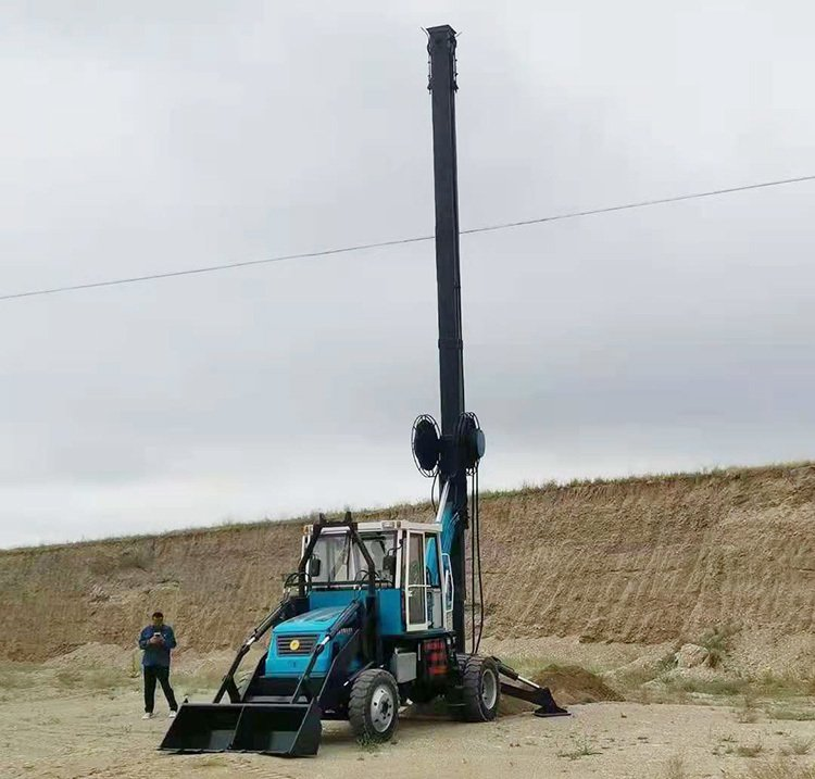 180-13 Wheeled Rotary Drilling Rig is a special machine for construction piling