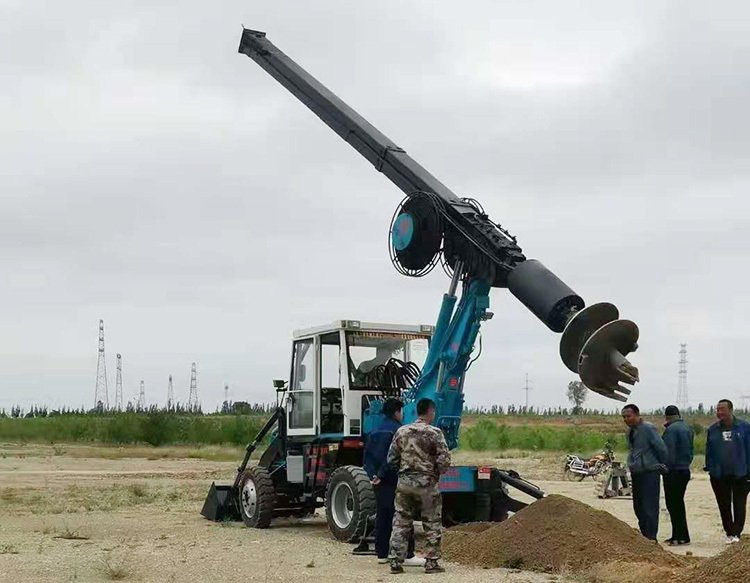 180-13 wheeled pile rigs have been well received by users