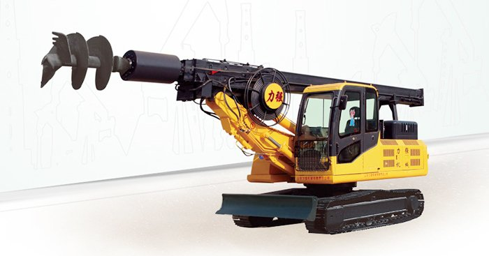 360-13 hydraulic rotary drilling rig real shot pictures