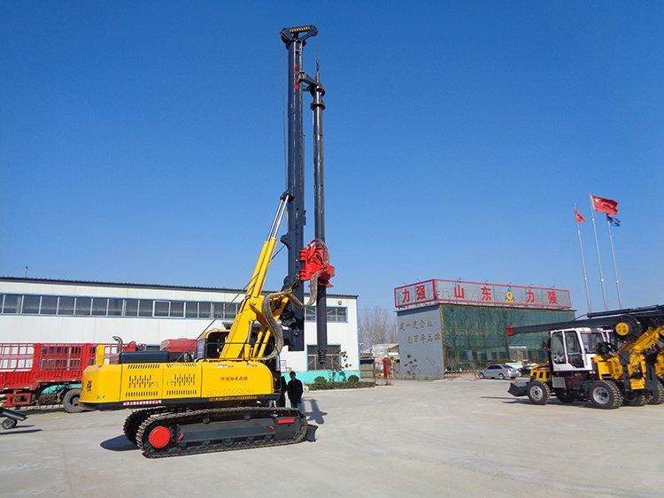 Full hydraulic machine lock rotary drilling rig real shot