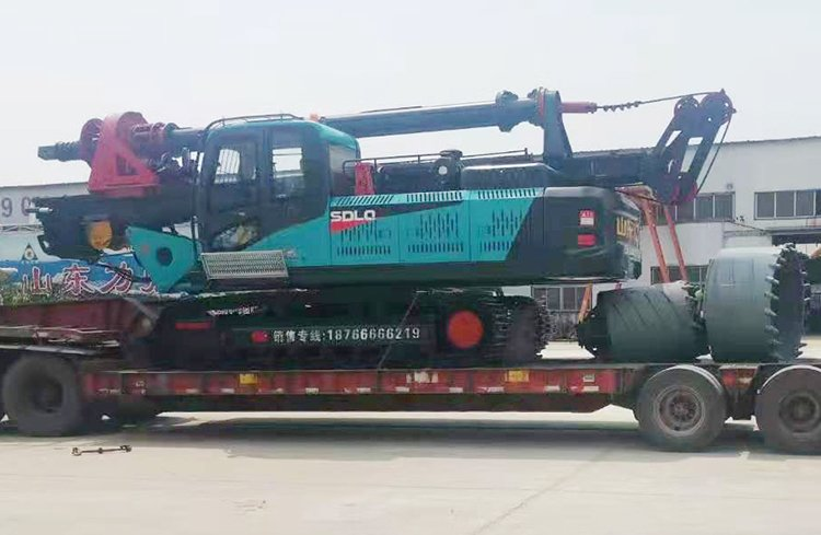 360-25 small hydraulic pile drilling machine picture