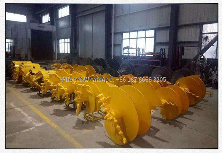 Various types of rotary drilling rig bits