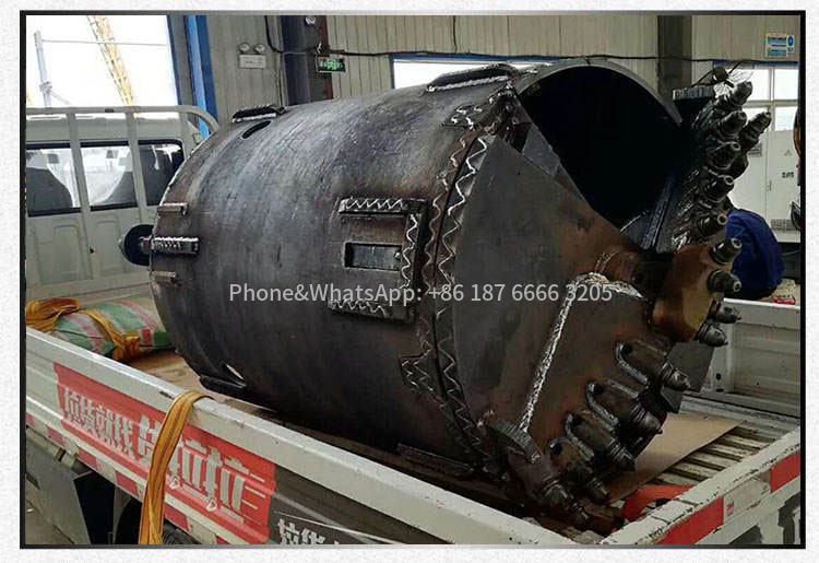 Rotary drilling rig sand bucket is widely used