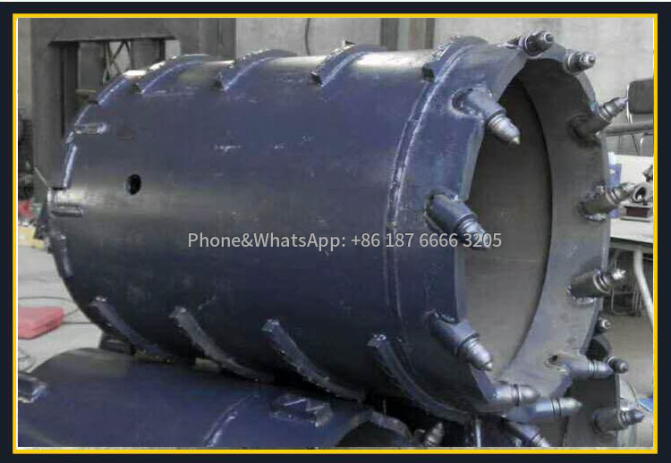 Rotary drilling rig drill bit real picture