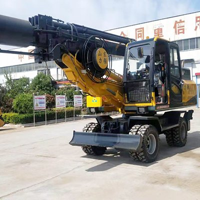 360 Tire Rotary Drilling Rig