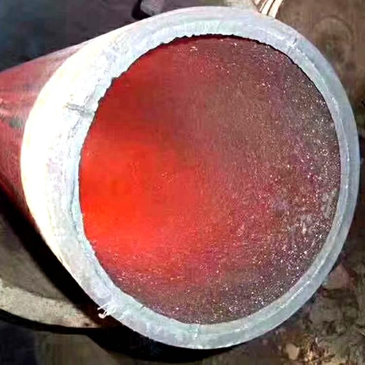 自蔓燃陶瓷耐磨钢管