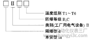 隔爆型、本安型热电偶防爆标志使用选型
