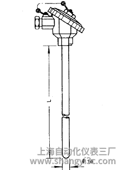 WRE-130无固定热电偶安装图片