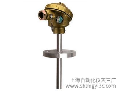 WRE-420 430固定法兰热电偶