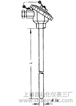 WRN-130无固定热电偶安装图片