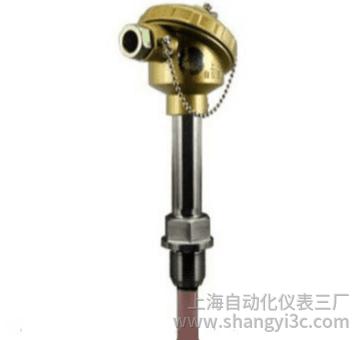 WRR-230固定螺纹防水接线盒双铂铑热电偶(d=16 M27*2)