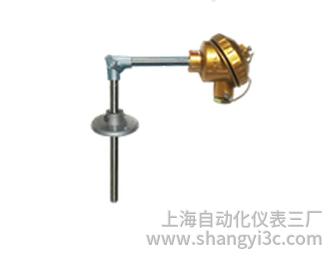 WRE-530活动法兰防水接线盒直角热电偶