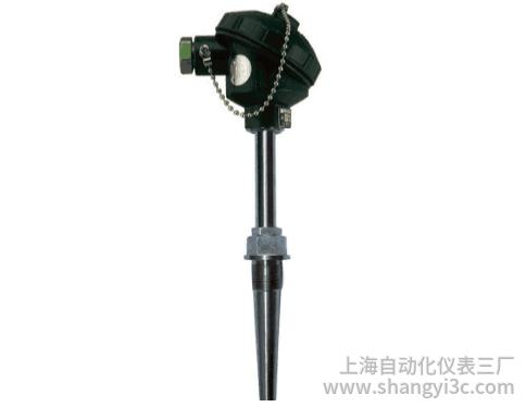 WZP-621A固定螺纹锥形套管防溅式热电阻
