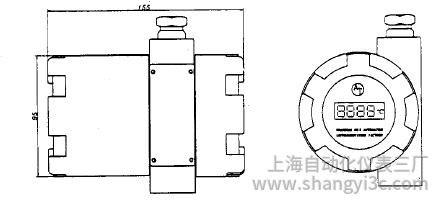 SBWZ-2464智能數顯型熱電阻溫度變送器安裝圖片