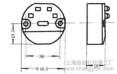 SBWR-2160常规型热电偶温度变送器安装图片