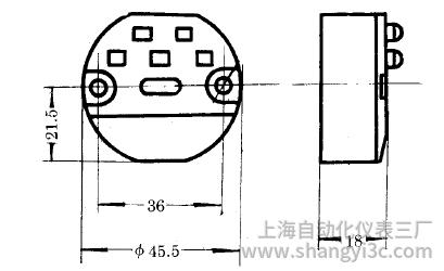 SBWZ-4460常規型熱電阻溫度變送器安裝圖片