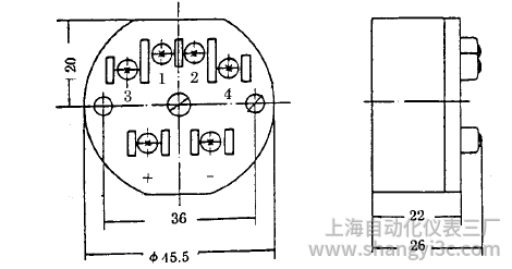 SBWR-2161智能型熱電偶溫度變送器安裝圖片