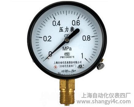 Y-100普通压力表(0-1