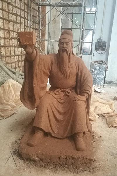 历史人物雕塑制作