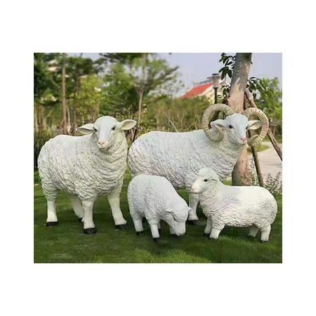 广场动物雕塑