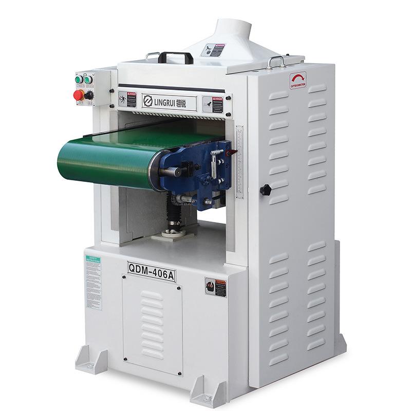 履带式单面压刨螺旋刀压刨自动输送带压刨机630压刨塑料压刨