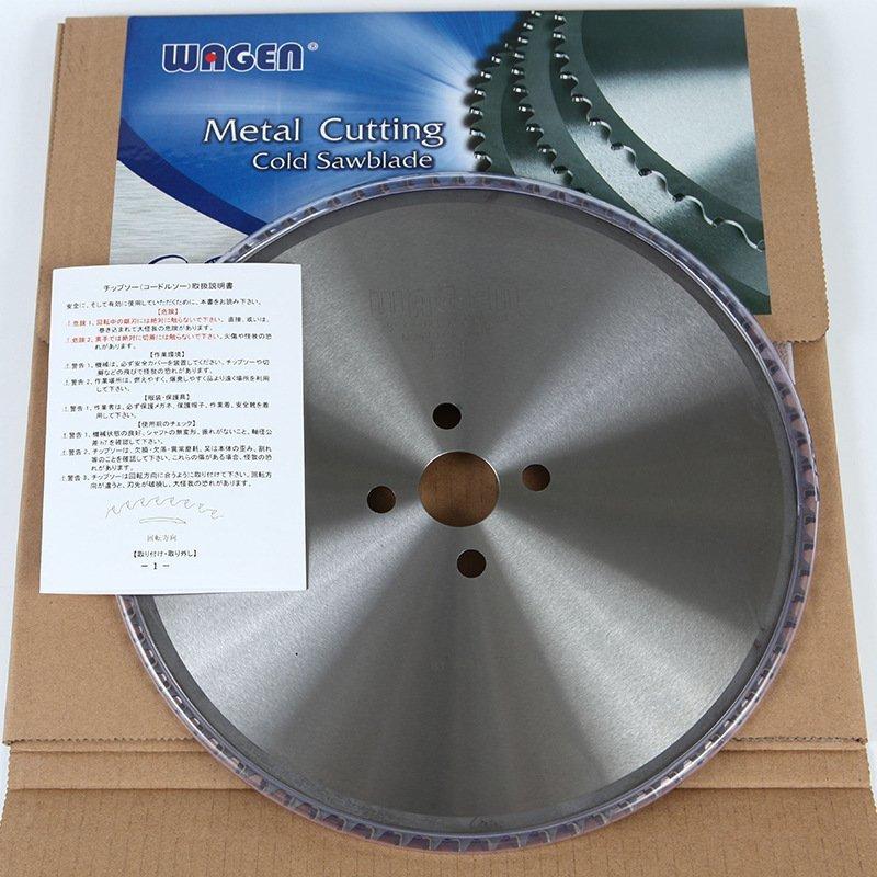 WAGEN日本和源金属陶瓷冷锯片冷锯锯片高速圆锯机锯片锯铁专用锯片