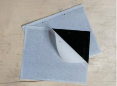 金纹细蛾黑色粘胶板