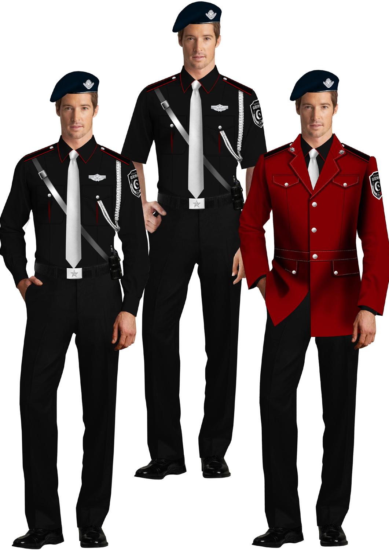 保安制服系列设计方案03