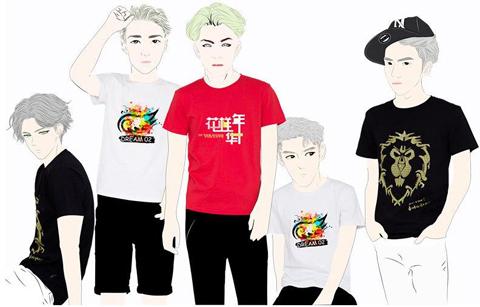 上海文化衫定做_上海文化衫/广告衫定做厂家