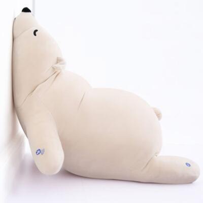 日本LIVHEART北极熊毛绒玩具