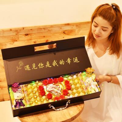 送女朋友的礼物:遇见德芙巧克力礼盒