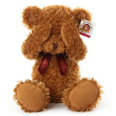 女友礼物:不听不说不看害羞熊