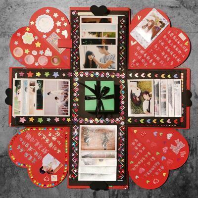 女友礼物:DIY惊喜爆炸盒子