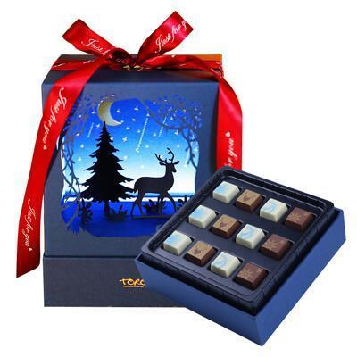 女朋友的礼物:一鹿有你巧克力礼盒