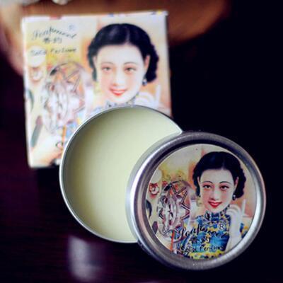 女友礼物:香约女士固体香膏