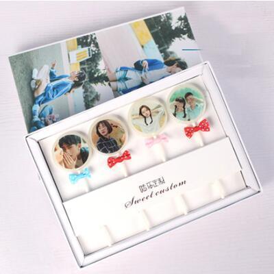 女朋友的礼物:定制照片棒棒糖礼盒