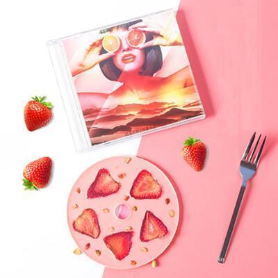 女友礼物:会唱歌的CD唱片巧克力