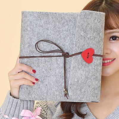 女友礼物:毛毡粘贴式DIY相册