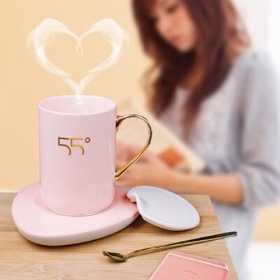 女朋友的礼物:超暖心的55度恒温暖暖杯