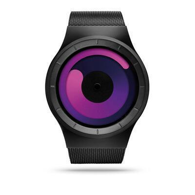 女友礼物:Ziiiro水星漩涡创意手表