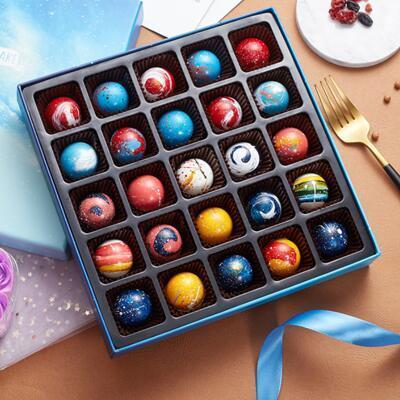 日式星球手工巧克力