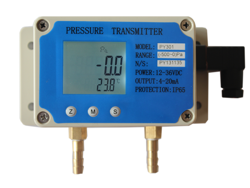 PY301风压变送器选型