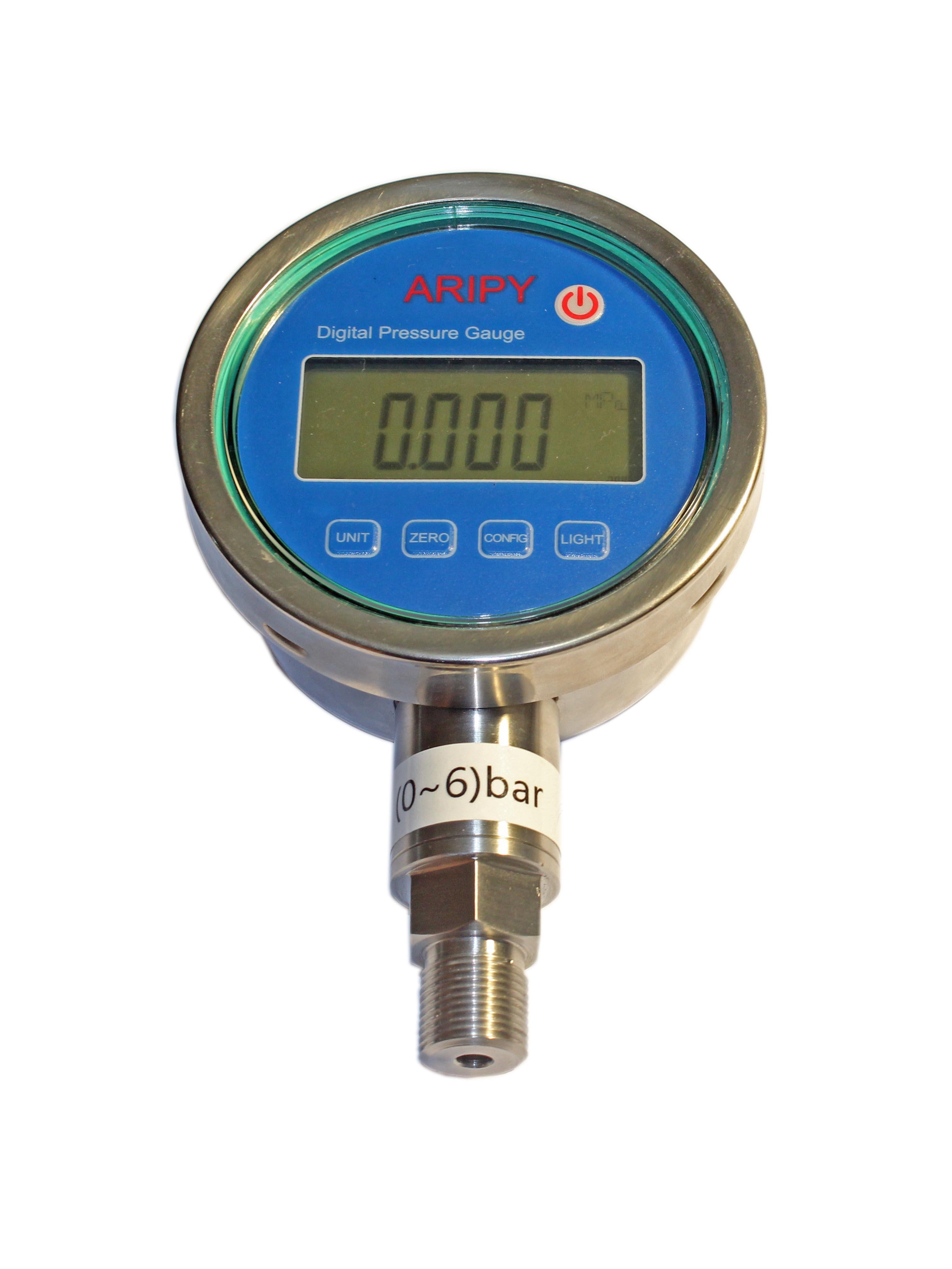 精密数字压力表检定指针压力表的方法