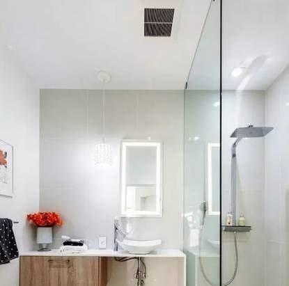 成都卫生间安装玻璃隔断案例