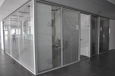 办公室超白玻璃隔断