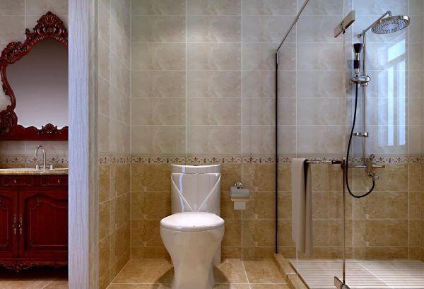 洗澡间玻璃隔断