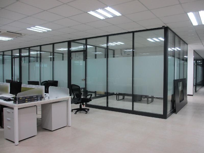 成都玻璃隔断墙设计就找大名玻璃隔断