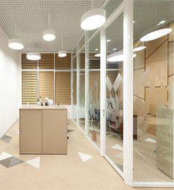成都办公室玻璃隔断装修就找成都大名高隔间